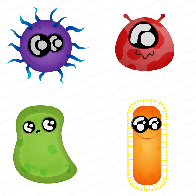 Bacteria clipart word  Clipart And Germs Bacteria