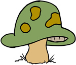 Mushroom clipart decomposer NatureWorks Quiz Decomposers and and