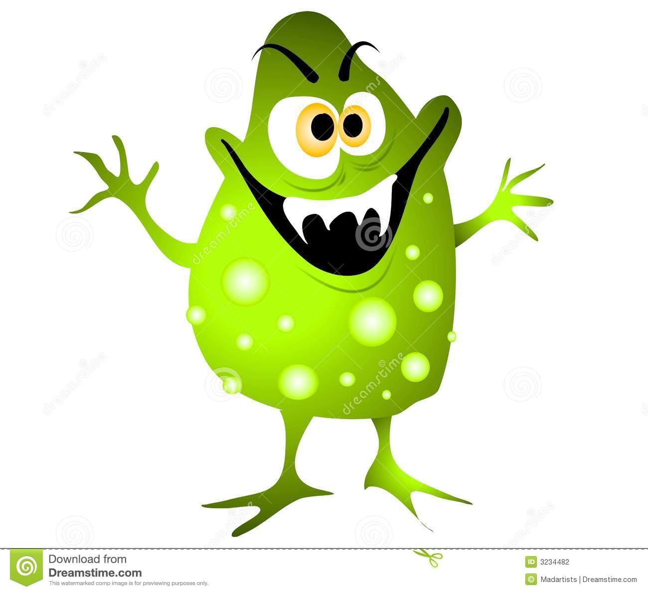 Bacteria clipart sick Germ Clipart Germ Evil cliparts