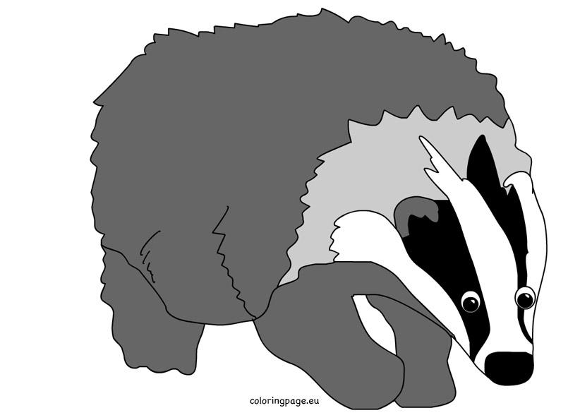 Badger clipart Clipart #22 badger art Clipart