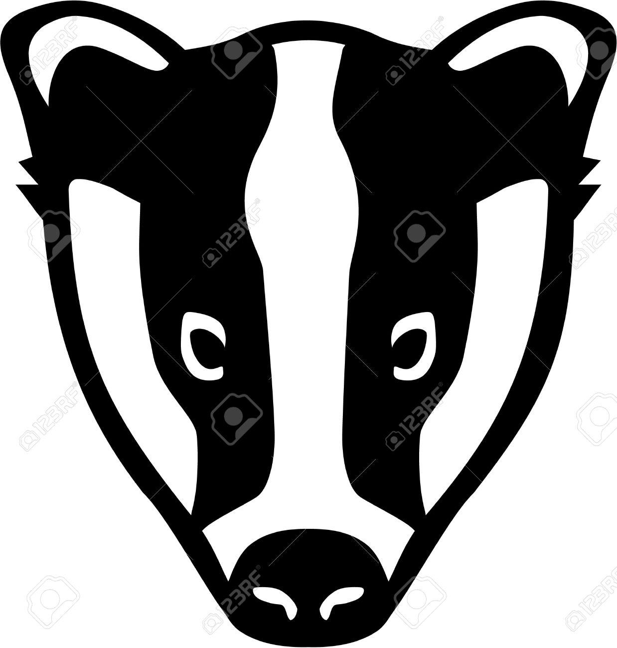 Badger clipart Clipart #4 badger art Clipart