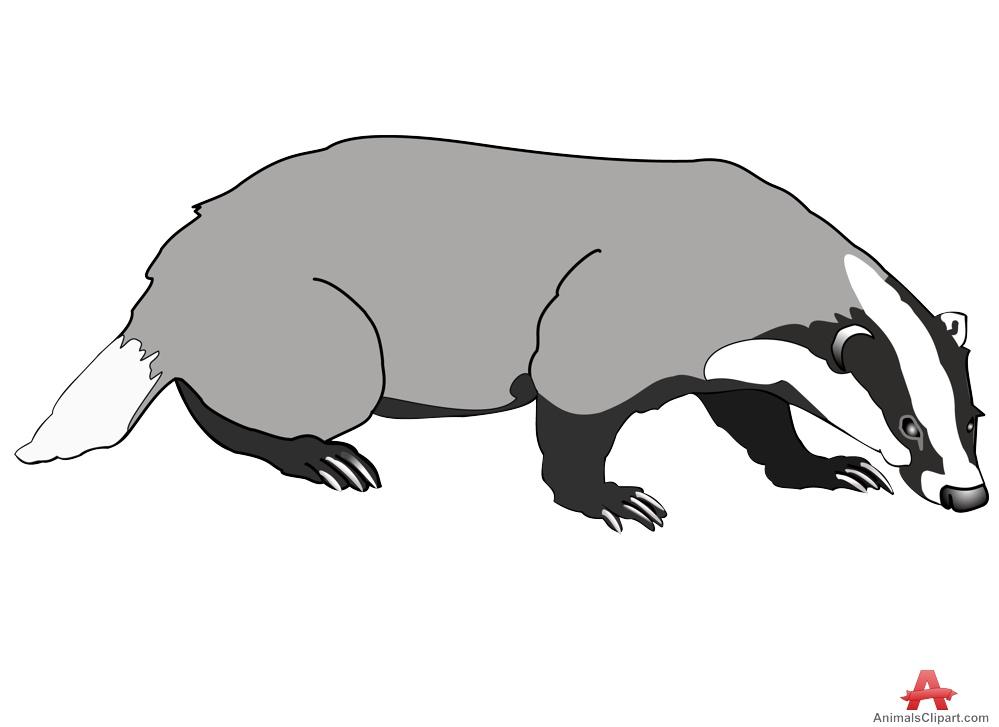 Honey Badger clipart giant #9
