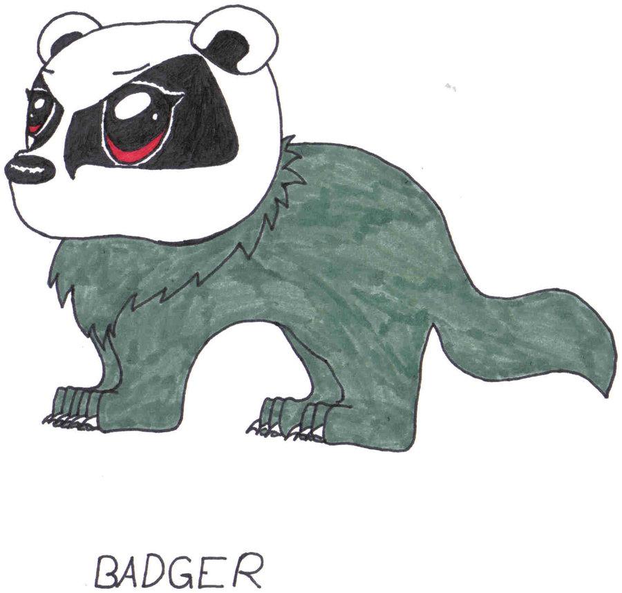 Badger clipart mean BirdEyes BirdEyes on by Chibi