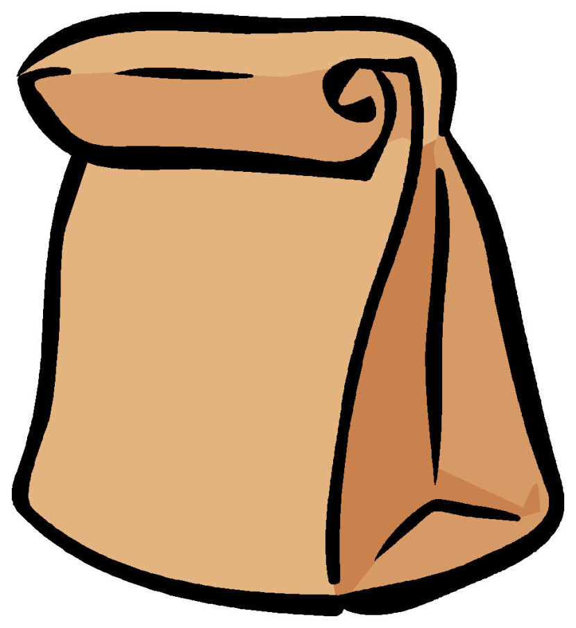 Bag clipart Com Clipart Lunch Lunch Bag