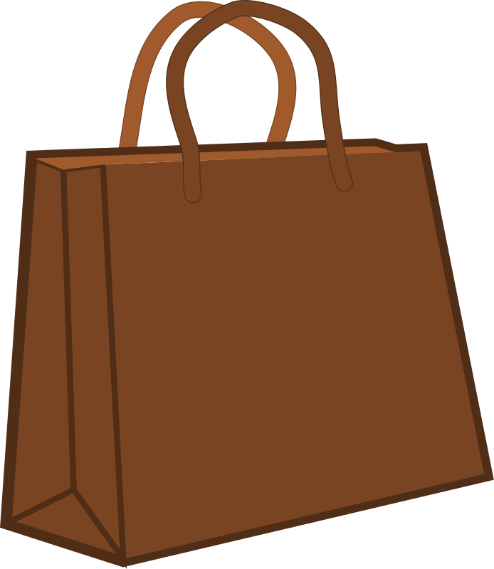 Cart clipart amish Clip to Bag Clip Brown