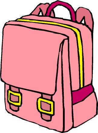 Bag clipart Clip backpack CLIPART Bags