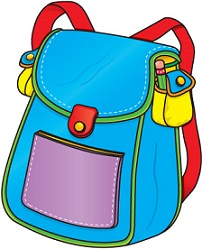 Bag clipart Free book Book bag Clipart