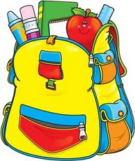Bobook clipart the bag Book Free Bag backpack or