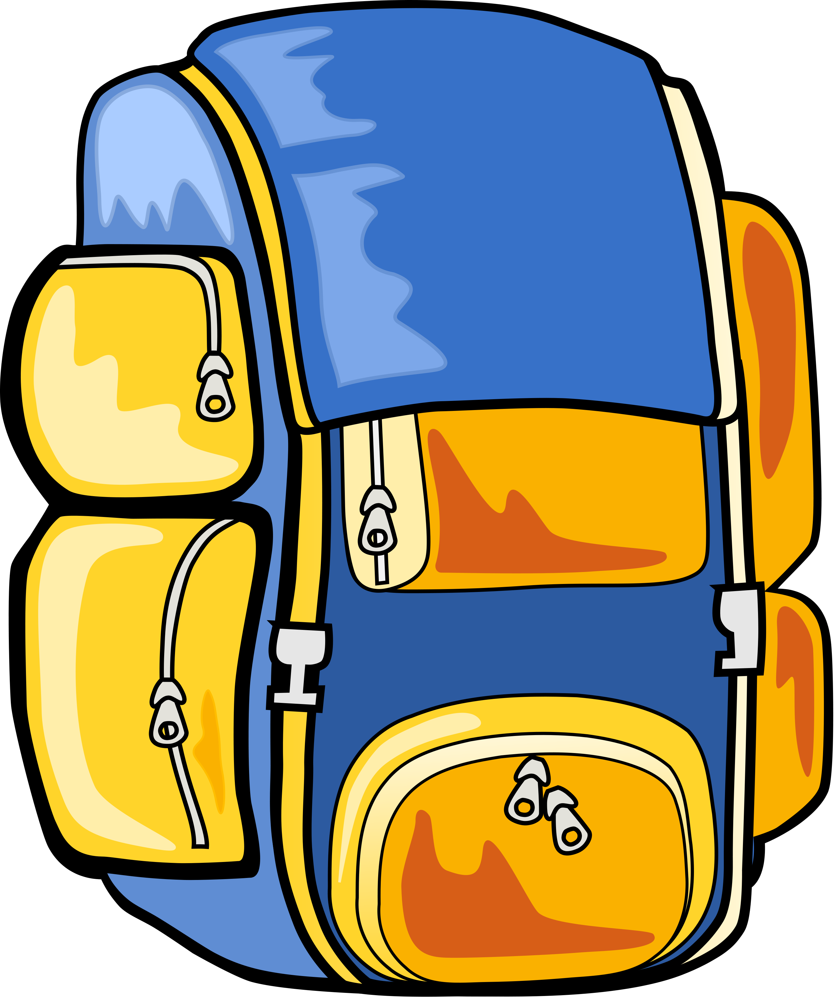 Hiking clipart school camp #14