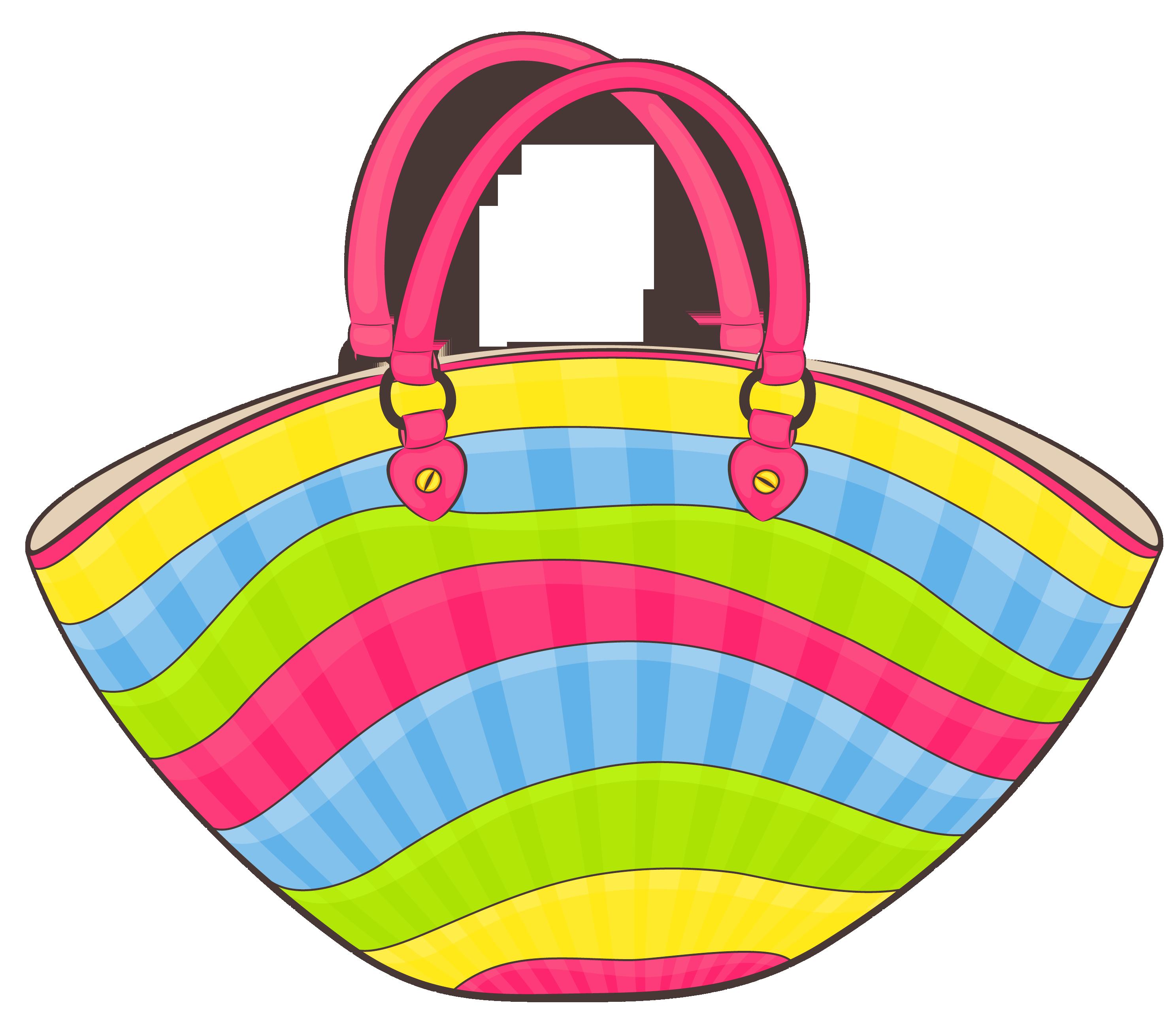 Vacation clipart beach bag Bag  Clipart High available