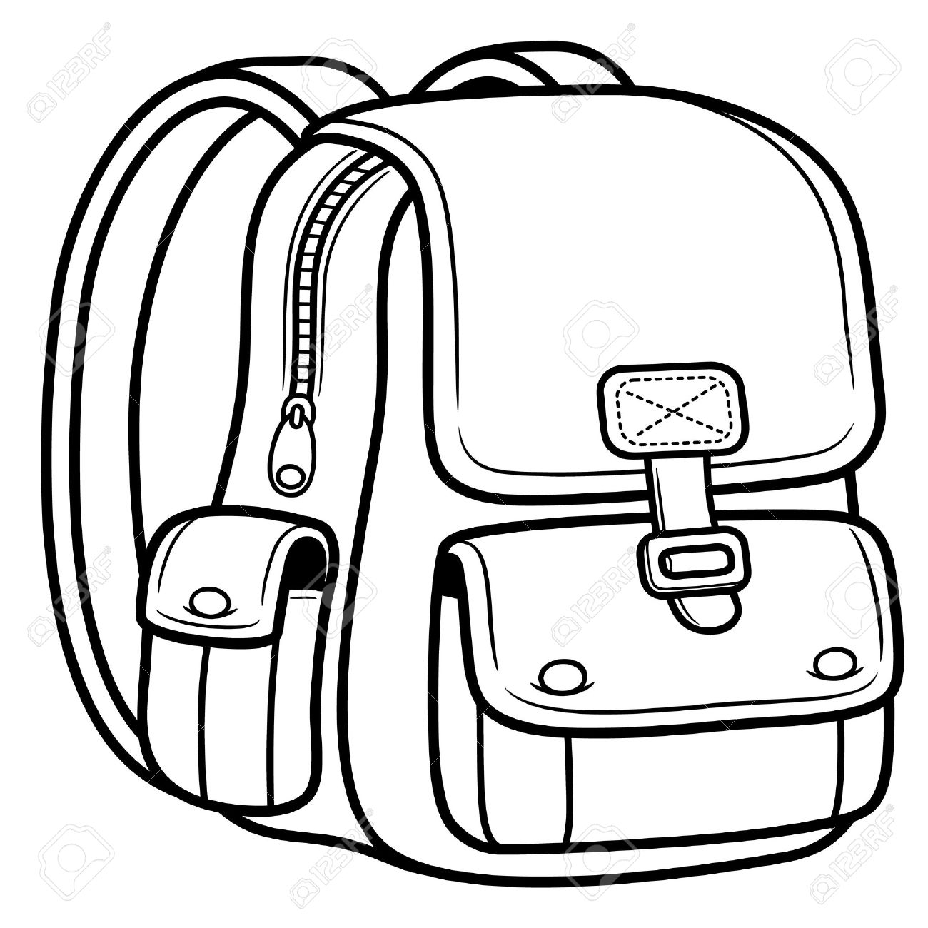Bag clipart black and white Collection Collection and clipart Bag