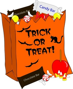 Candy Bar clipart drawing Download Bag Candy Halloween Bag
