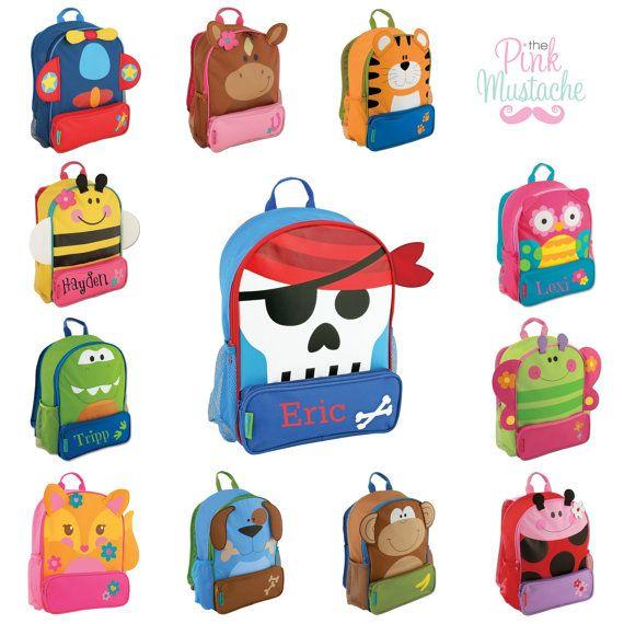 Bag clipart children's Stephen Little on Sidekick Backpack