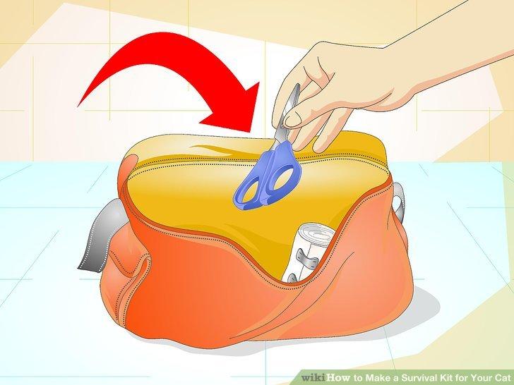 Bag clipart emergency kit Step a titled Steps for