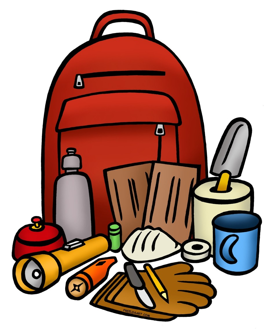 Bag clipart emergency kit Free Kit Kit Clip Download