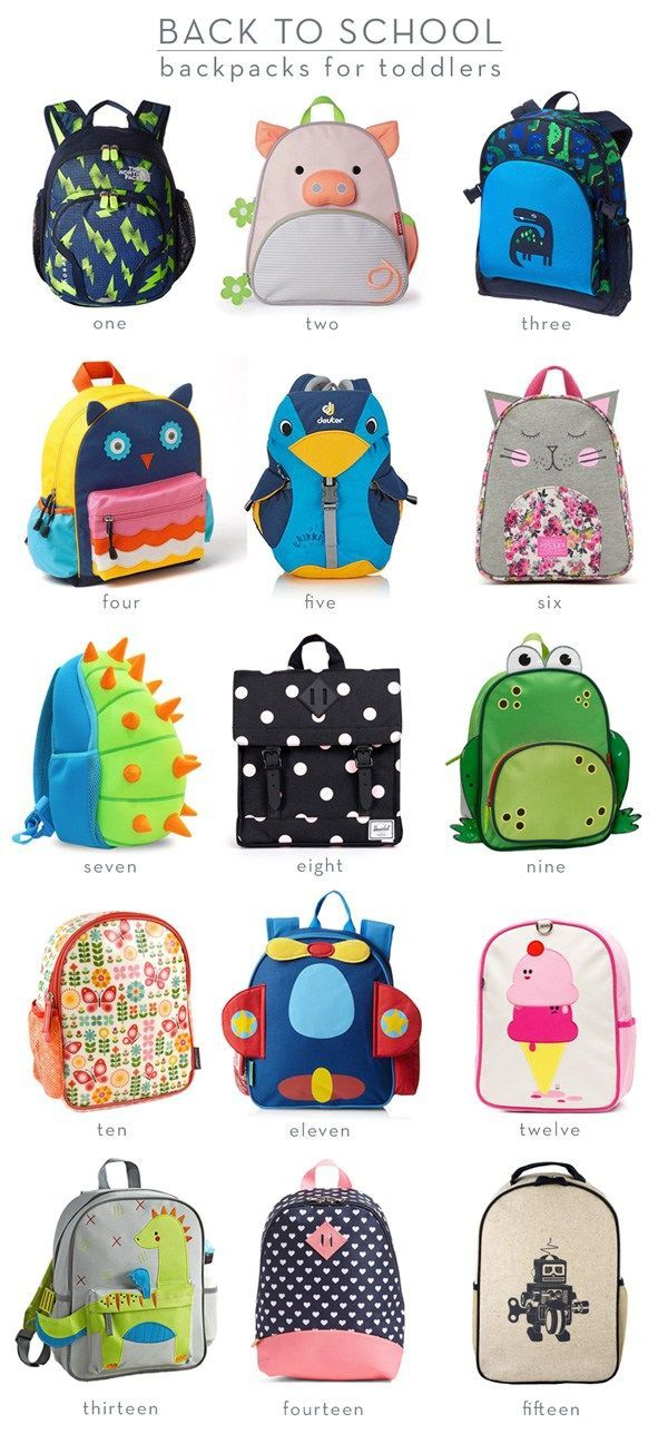 Bag clipart four Backpacks Toddlers for 651 BAGS