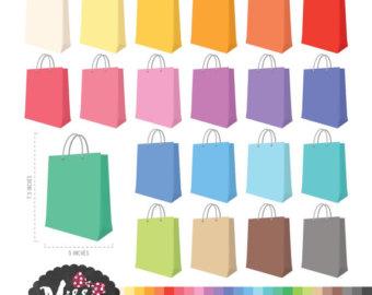 Bag clipart grocery basket Bag 26 bag Etsy Colors
