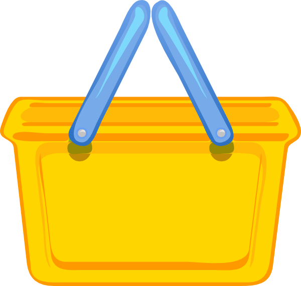 Bag clipart grocery basket As: Download  at clip