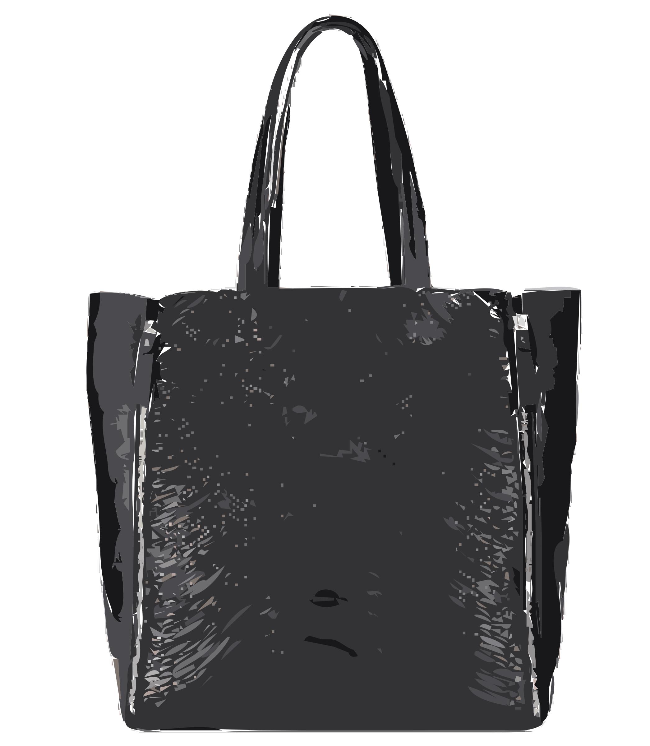 Purse clipart tote bag Clipart no No tote Black