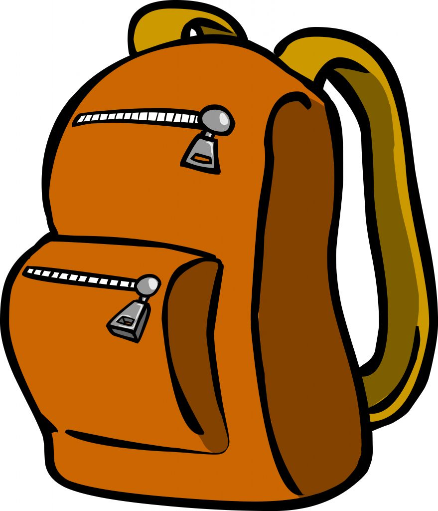 Bag clipart pack bag Pack Clipart Back cliparts Pack