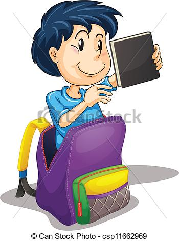 Bag clipart pack bag A school illustration a in