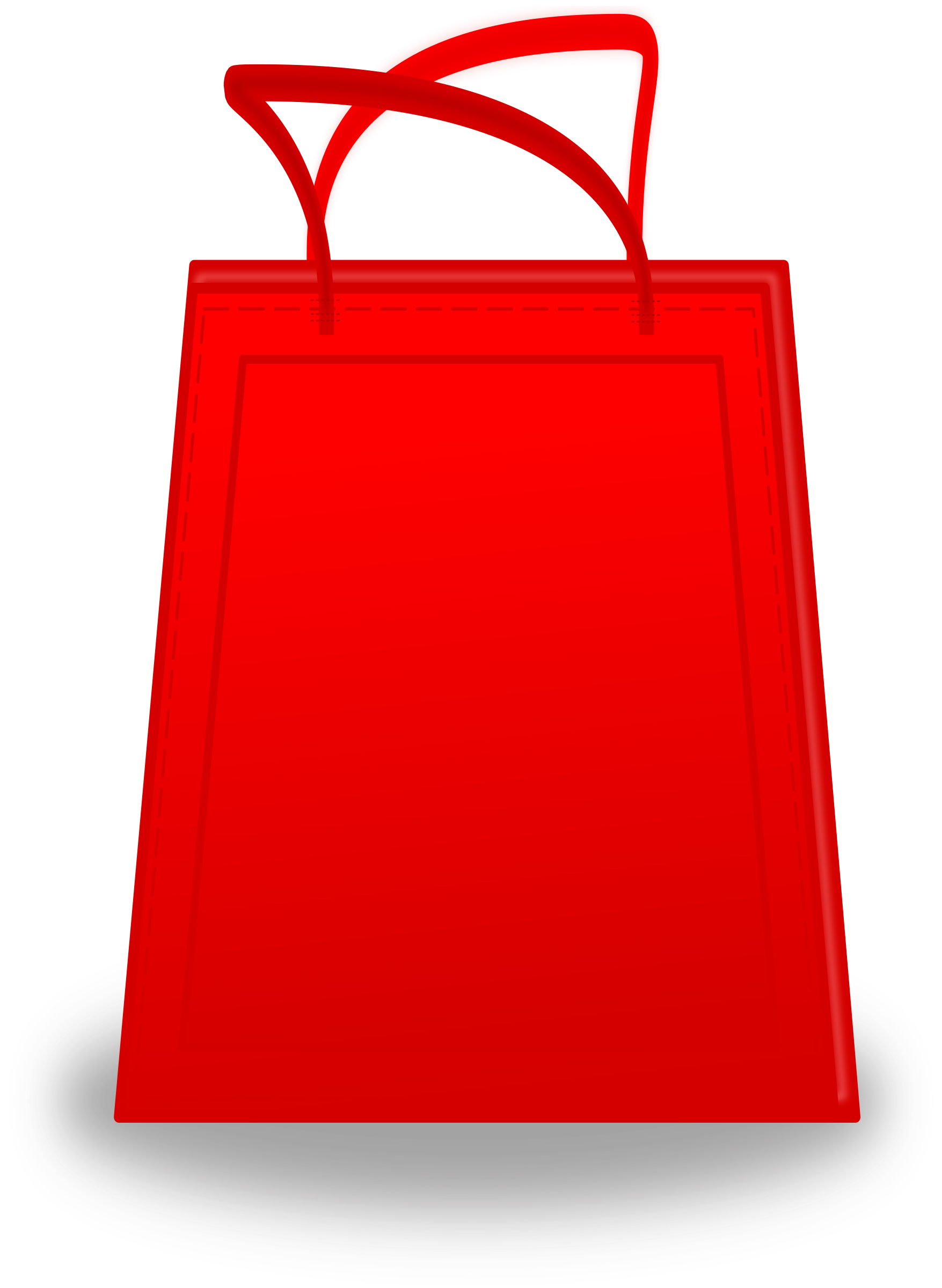 Bag clipart rectangle Bag Shopping Clipart Shopping Bag