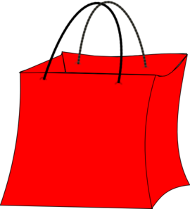 Bag clipart sack Clipart The red  sack