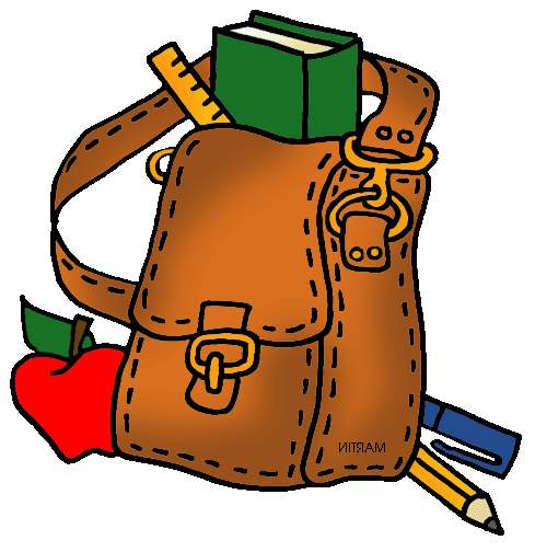 Bag clipart school library Clipart Library School Clip Clipart
