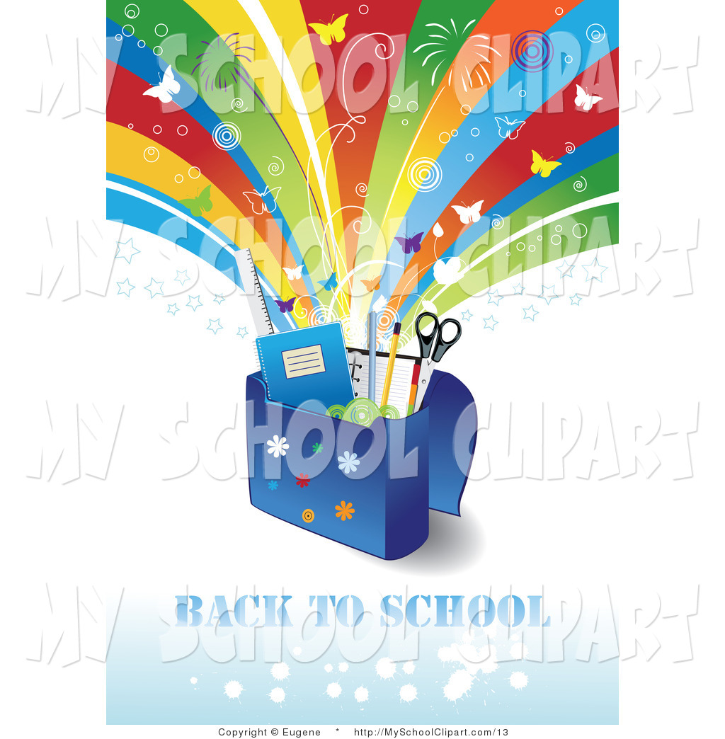 Bag clipart school supply In with Celebration Under School