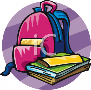 Bag clipart school outline Panda Images Bookbag Clipart Clipart
