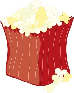 Bagel clipart buttered Of of Clipart popcorn Box