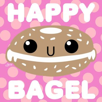 Bagel clipart happy On HAPPY 35 152 by