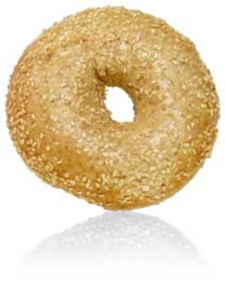 Bagel clipart large Clker com  Sesame Bagel