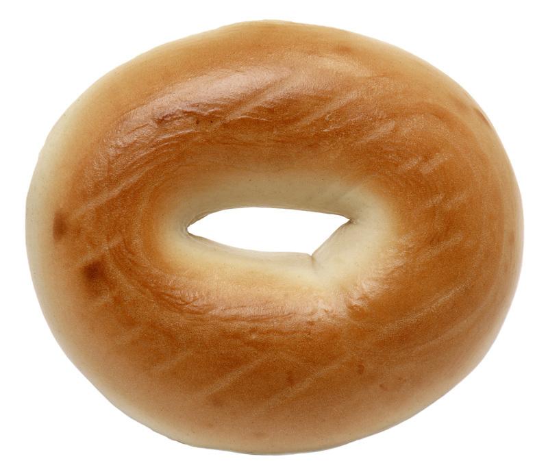 Bagel clipart plain Plain html jpg  bagel