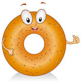 Bagel clipart plain And GoGraph Bagel ·