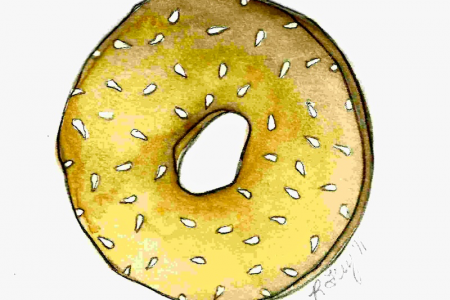 Bagel clipart vector And Art bagel  Clip