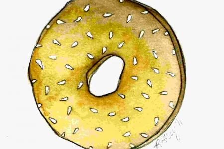 Bagel clipart vector And bagel 100 Clip illustrations