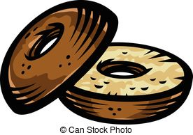 Bagel clipart vector 068  free Clipart 2