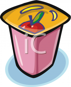 Yogurt clipart outline Of It of is Clipart