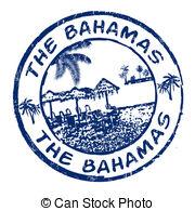 Bahamas clipart Bahamas stamp the and Bahamas