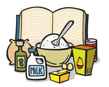 Baking clipart mix ingredient Free Clip Clipart Free Panda