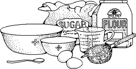 Flour clipart ingredient Baking Tags: food Clipart cooking