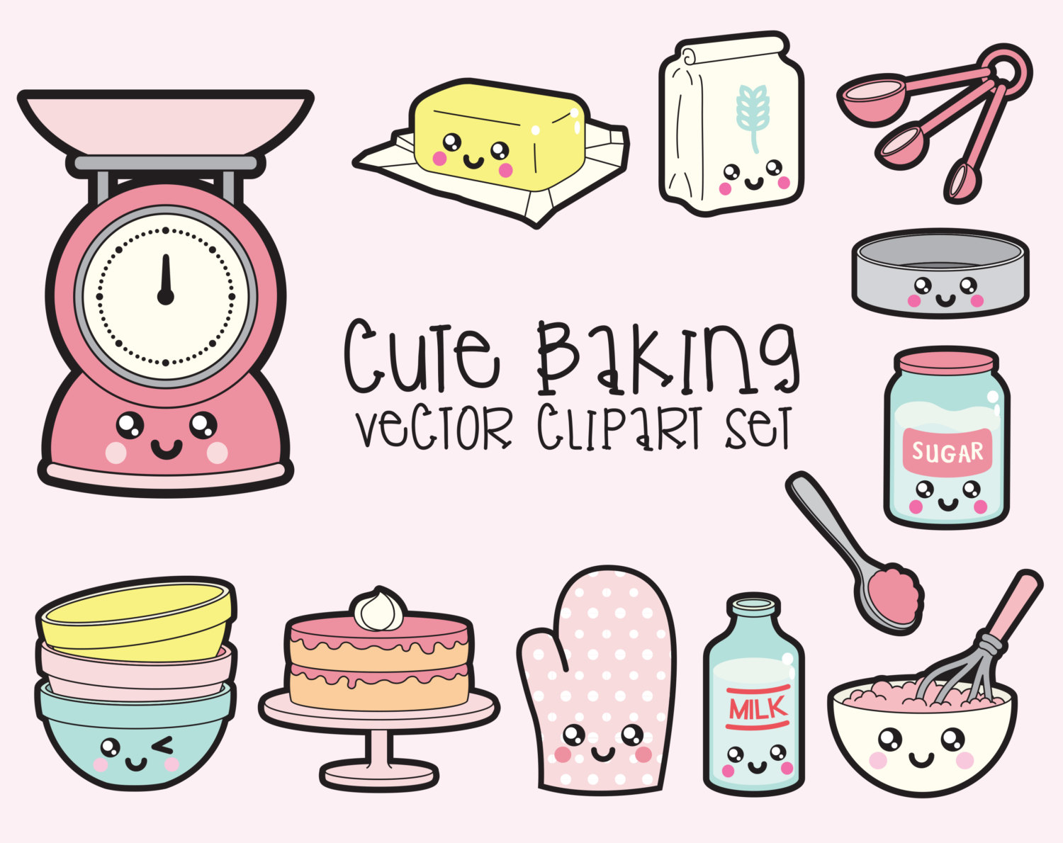 Baking clipart mother daughter High Baking Clip Premium Etsy