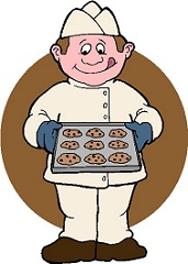 Baking clipart bake cookie Clipart baked cookies Free with
