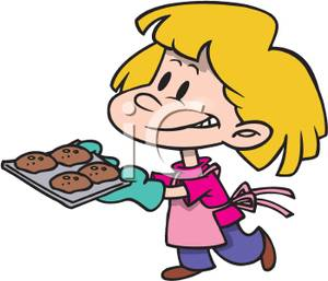Baking clipart bake cookie Cookies baked clipart Clipart Clipart