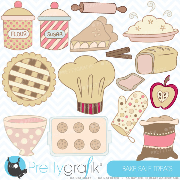 Pies clipart bake sale [CL310] use  sale Bake