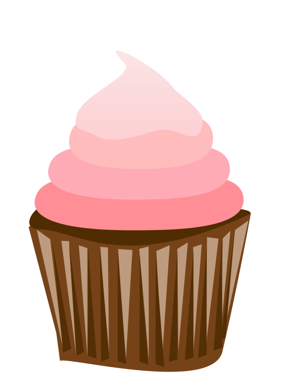 Drawn cupcake silhouette Cupcake  Pinterest Images clipart