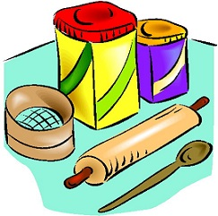 Flour clipart ingredient Baking Baking Free Clipart tools
