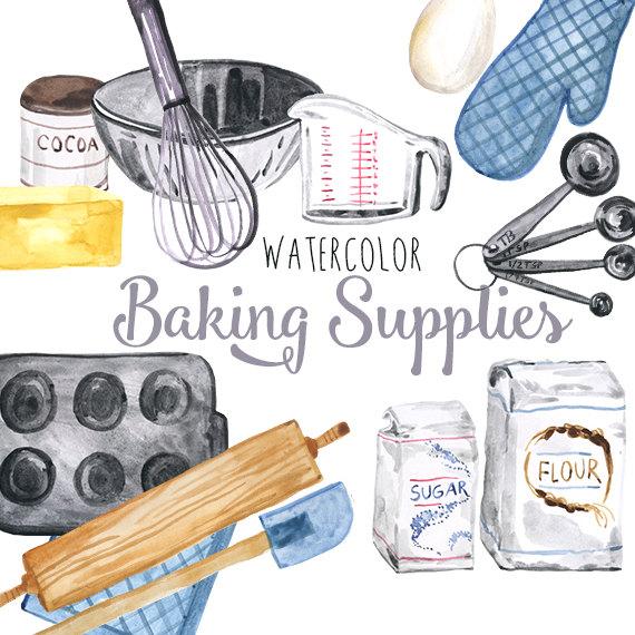 Baking clipart baking tool Etsy Baking clipart clipart baking