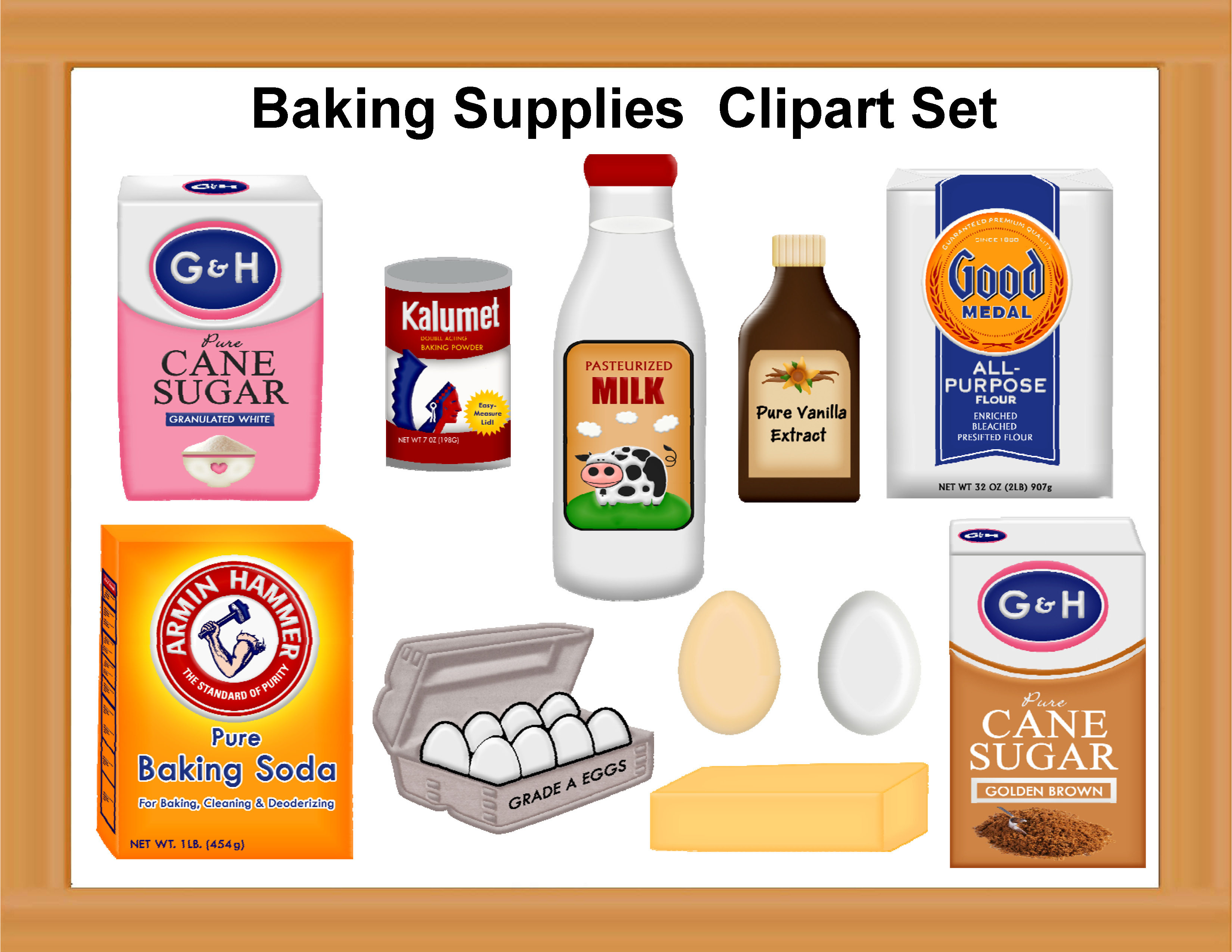 Baking clipart baking tool Collection ingredients Search Powerpoints clipart
